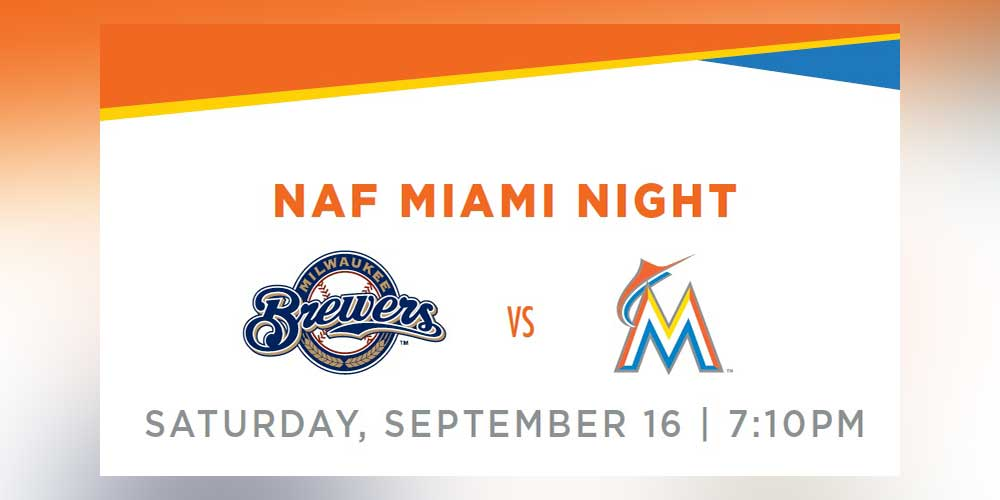 NAF Miami Night at the Marlins Fundraiser
