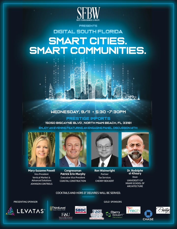 South Florida Business & Wealth Presents Smart Cities. Smart Communities