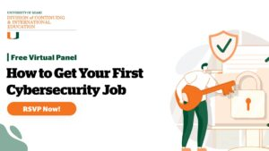 How to Get Your First Cybersecurity Job @ Online event