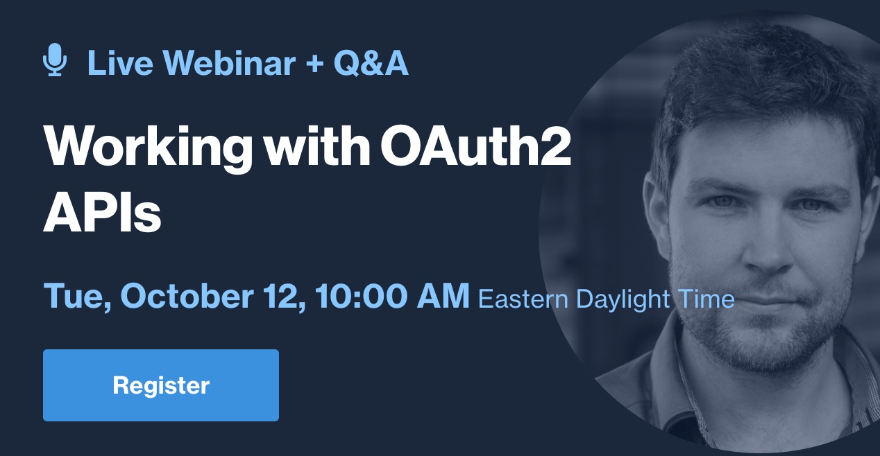 Working with OAuth2 APIs